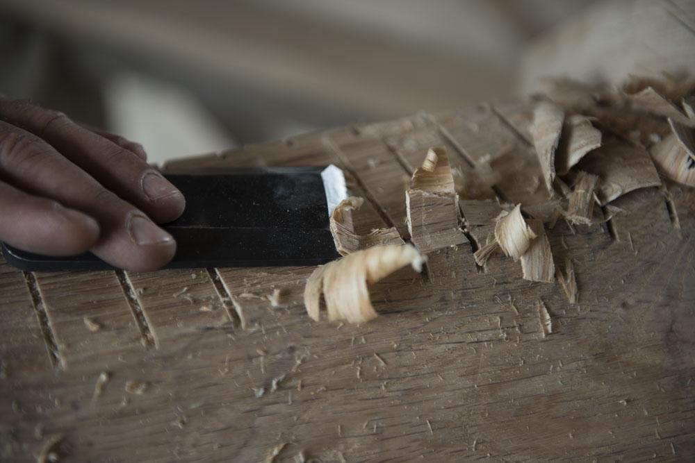 La construction de charpentes traditionnelles pour le neuf et l'ancien est notre métier.