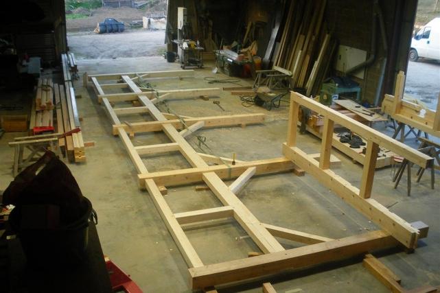 Préparation en atelier – Plazac